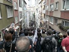 Indo para Taksim.