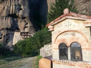 Capela em Meteora, Grécia