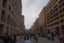 Ruas de pedestres em Ierevan