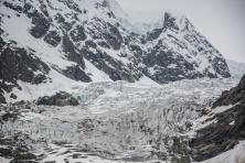 A geleira Tchaladi