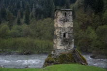 Havia uma torre no meio do caminho