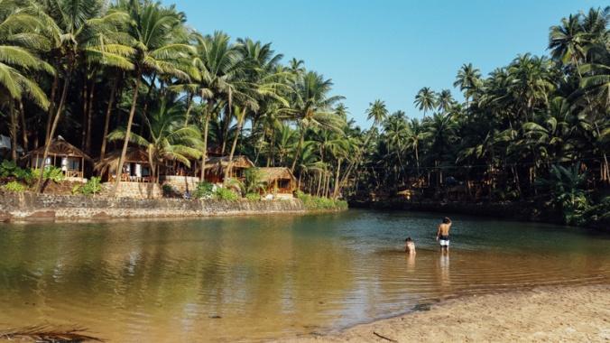 Kola, praia ao sul de Goa
