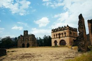 Castelos em Gonder.